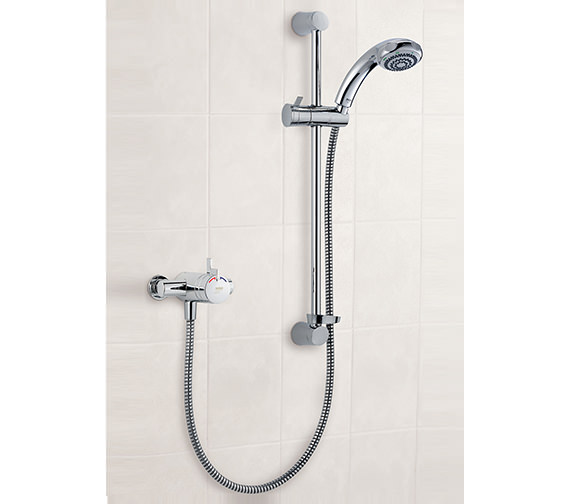 Mira Miniduo and Eco Showerhead EV Thermostatic Mixer Shower 1.1663.241