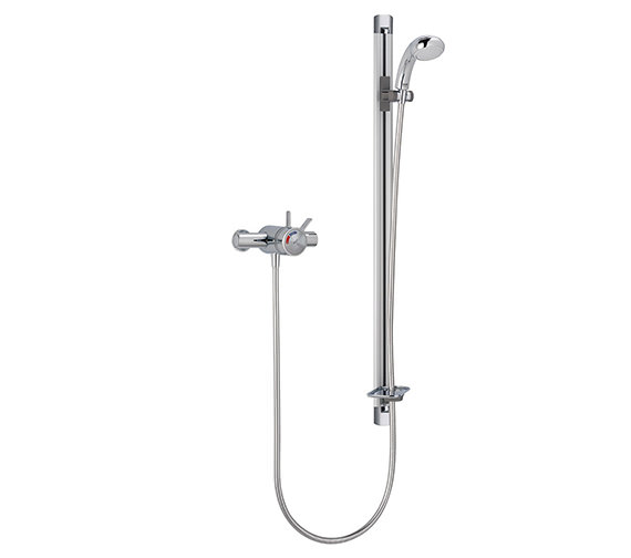 Mira Select Thermostatic Shower Exposed Valve With Flex Kit Chrome
