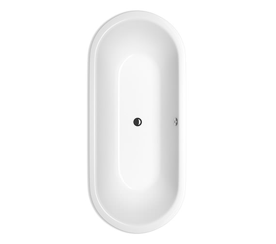 Bette Starlet Flair 1680 x 730mm Oval Super Steel Bath