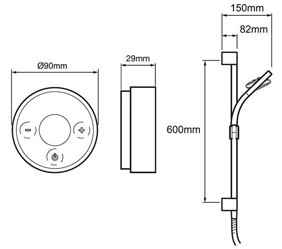 Technical drawing QS-V52761 / 1.1666.200