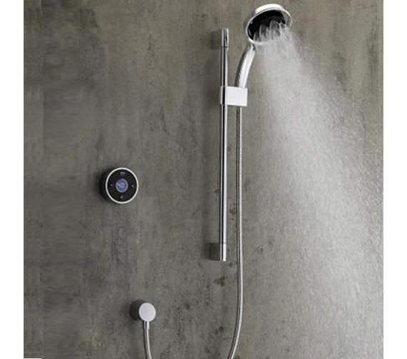 Mira Platinum Rear Fed High Pressure Digital Mixer Shower