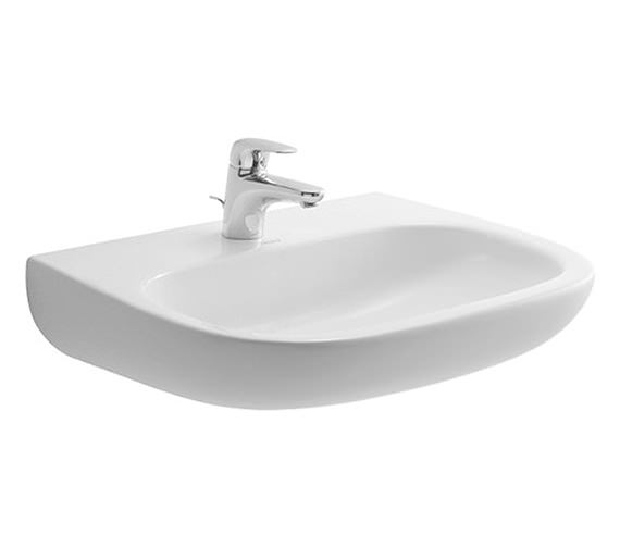 Duravit D-Code 600 x 460mm Washbasin Med - 23116000002