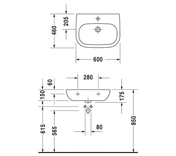 Technical drawing QS-V52814 / 23116000002