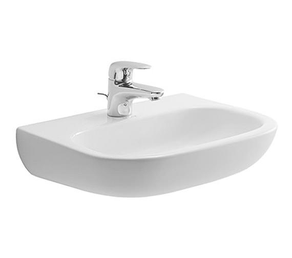 Duravit D-Code 450 x 340mm Handrinse Basin Med - 07074500002