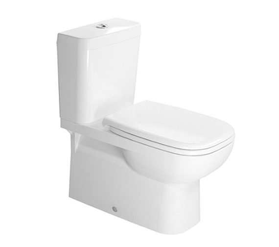 Duravit D-Code 360 x 695mm Close Coupled Toilet With Cistern And Seat