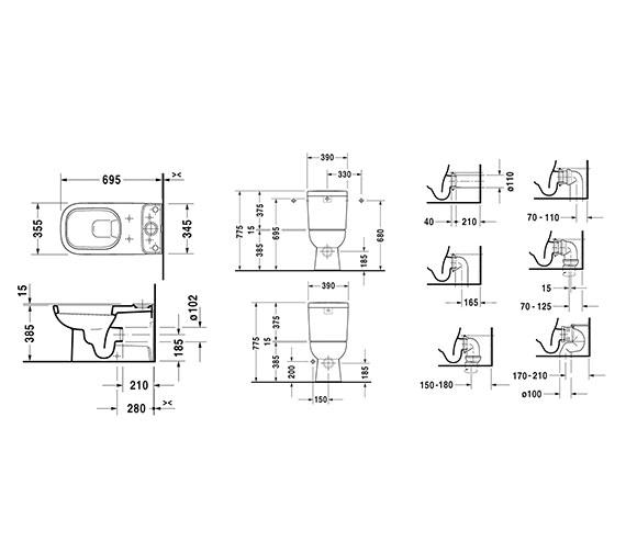 Technical drawing QS-V52823 / 21420900002