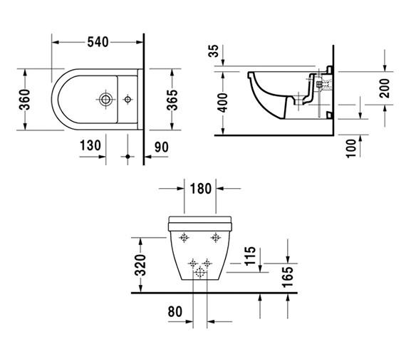 Technical drawing QS-V52842 / 2280150000
