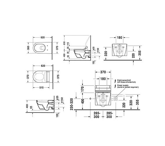 Technical drawing QS-V52845 / 2533090000