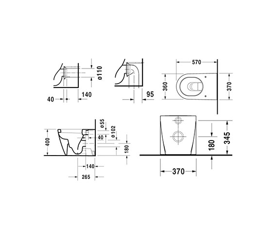 Technical drawing QS-V52846 / 2128090000