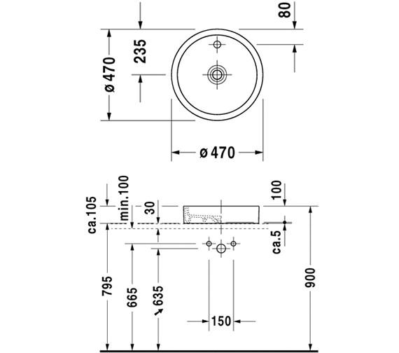 Technical drawing QS-V52856 / 0386470027