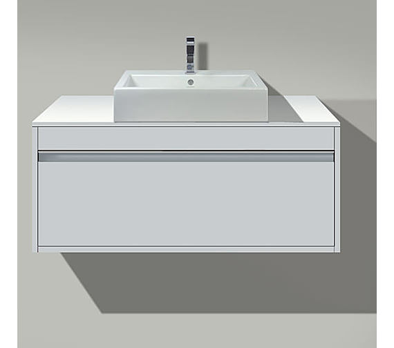 Duravit Ketho 800mm 1 Compartment Unit For Above Countertop Basin