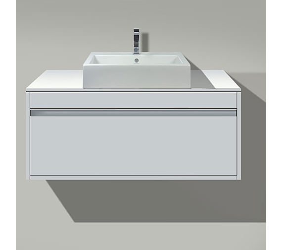 Duravit Ketho 1000mm 1 Compartment Unit For Above Countertop Basin