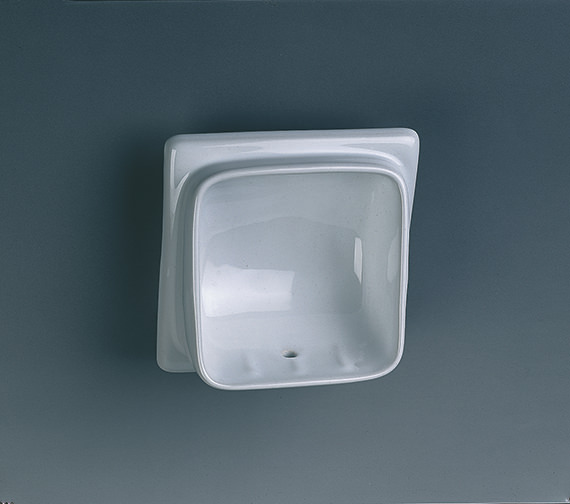 Twyford Built-In Semi Recessed Soap Dish - VC9808WH