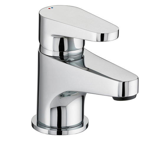 Bristan Quest Chrome Plated Basin Mixer Tap - QST BASNW C