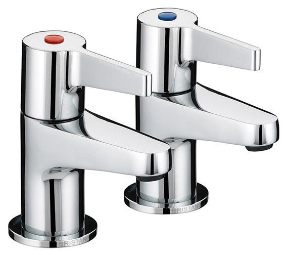 Bristan Design Utility Lever 3-4 Bath Taps - DUL 3-4 C