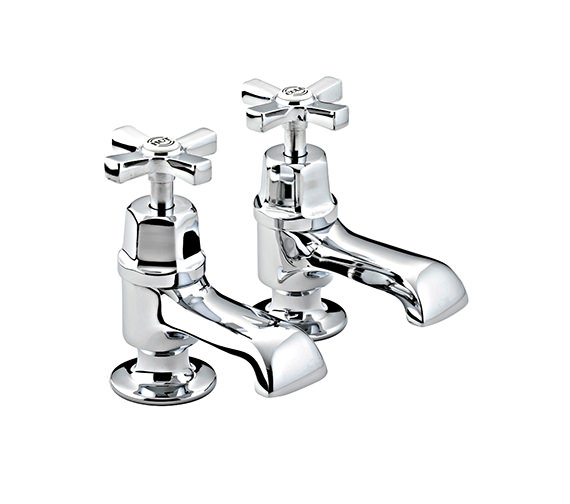 Bristan Art Deco Bath Taps - D 3-4 C CD