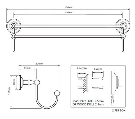 Technical drawing QS-V53382 / ACC07