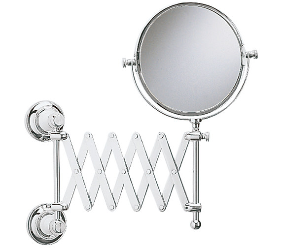Heritage Clifton Extendable Mirror Chrome - ACC16