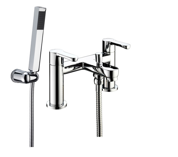 Bristan Nero Bath Shower Mixer Tap - NR BSM C