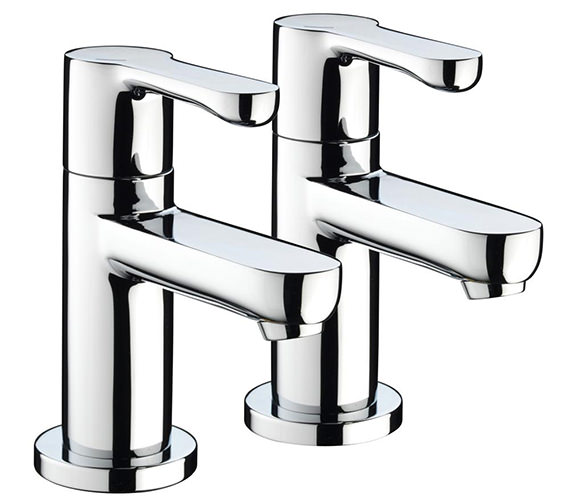 Bristan Nero Bath Taps Chrome - NR 3-4 C