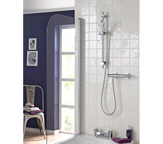 Bristan Artisan Thermostatic Bar Shower Valve With Handset - AR2 SHXMTFF C