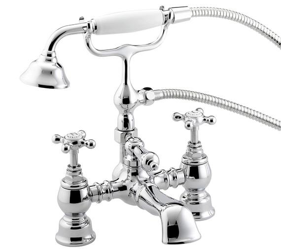 Bristan trinity bath shower mixer tap ty bsm c for Griferia para tina