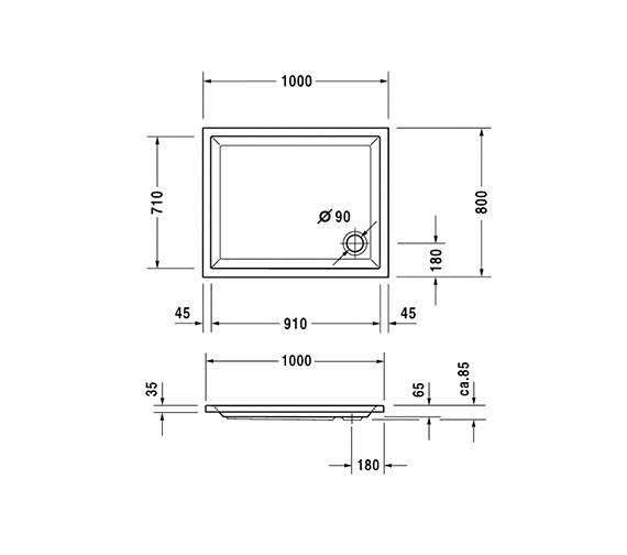 Technical drawing QS-V54185 / 720014000000000
