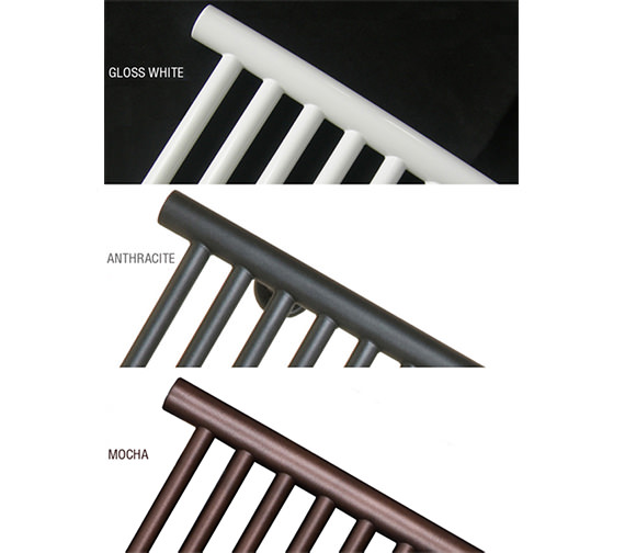 Alternate image of SBH Midi Wide Square Dual Fuel Towel Radiator 1000 x 810mm