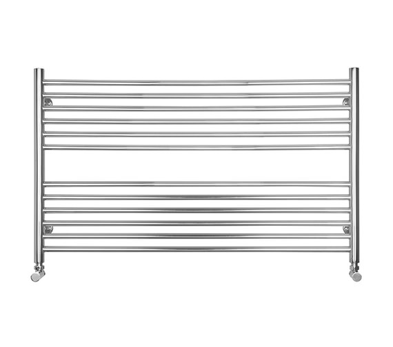SBH Compact Wide Heated Towel Radiator 1000 x 600mm