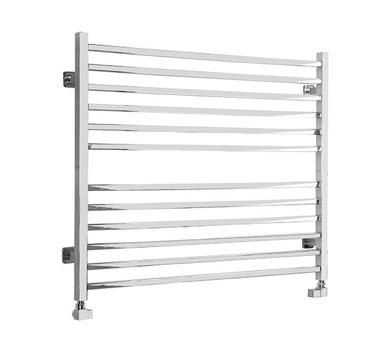 SBH Midi Wide Square Dual Fuel Towel Radiator 1000 x 810mm