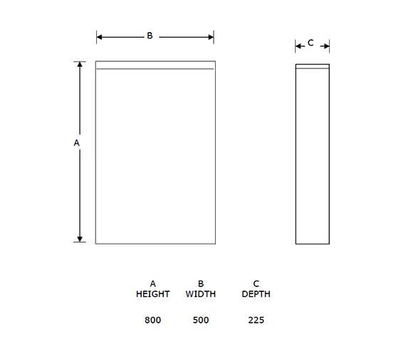 Technical drawing QS-V54791 / BTWMACON