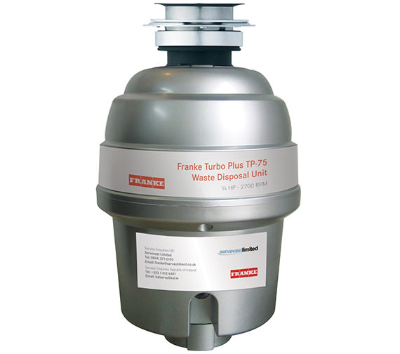 Franke Turbo Plus TP-75 Continuous Feed Waste Disposal Unit