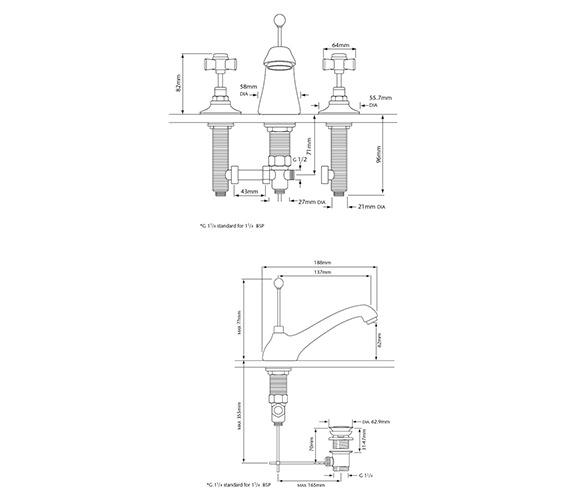 Technical drawing QS-V54867 / TDCC06