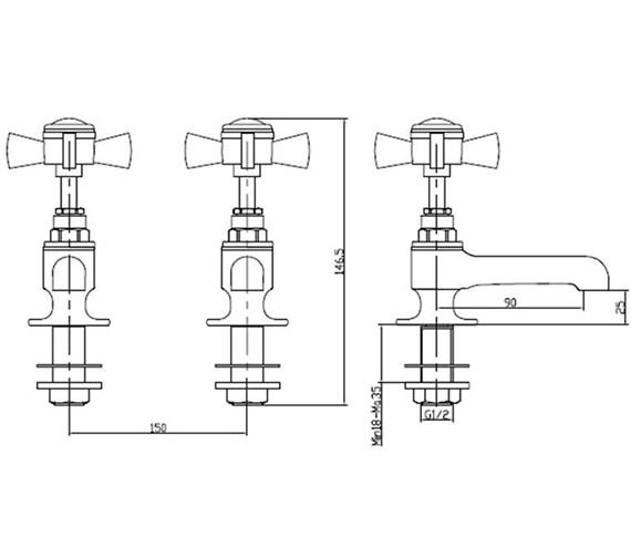 Technical drawing QS-V54872 / TDCG00