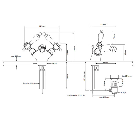Technical drawing QS-V54895 / TGRC05