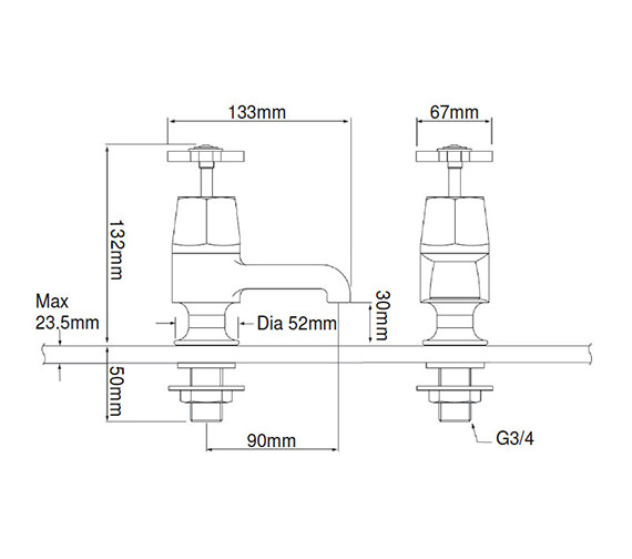 Technical drawing QS-V54899 / TGRDC01