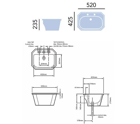 Technical drawing QS-V54912 / PGRW121