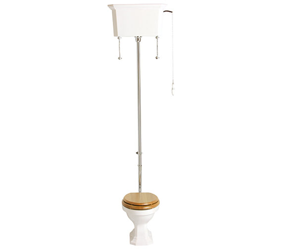 Heritage Granley High Level WC And Cistern 660mm