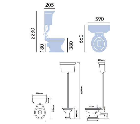 Technical drawing QS-V54918 / PGRW0L
