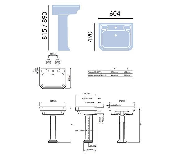 Technical drawing QS-V54921 / PGDW05