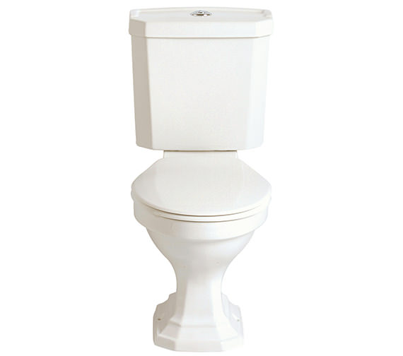 Heritage Granley Deco Close Coupled WC And Portrait Cistern 700mm