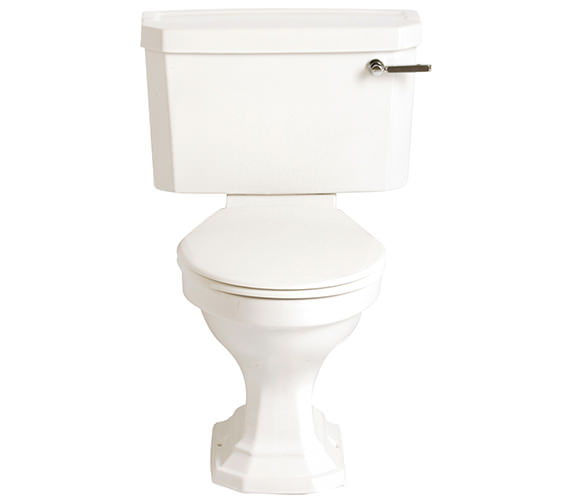 Heritage Granley Deco Close Coupled WC And Landscape Cistern 690mm