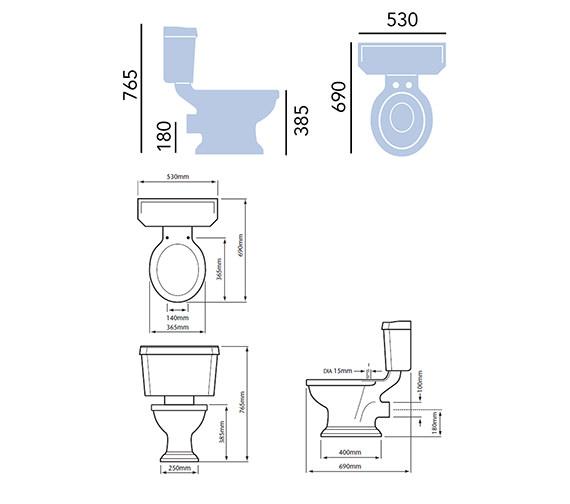 Technical drawing QS-V54925 / PGRW00