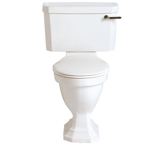 Heritage Granley Deco Comfort Height WC And Landscape Cistern 680mm