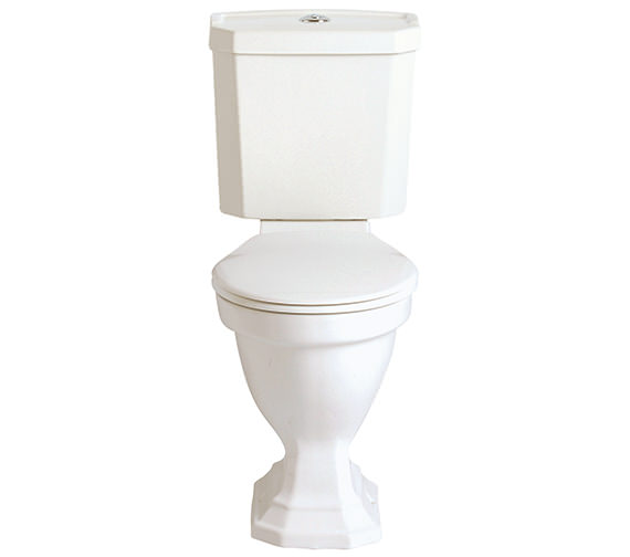 Heritage Granley Deco Comfort Height WC And Cistern 700mm