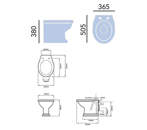 Technical drawing QS-V54929 / PDWF00