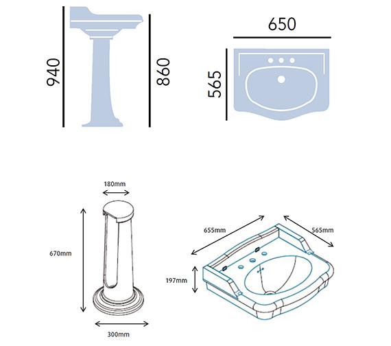 Technical drawing QS-V54931 / PVEW063