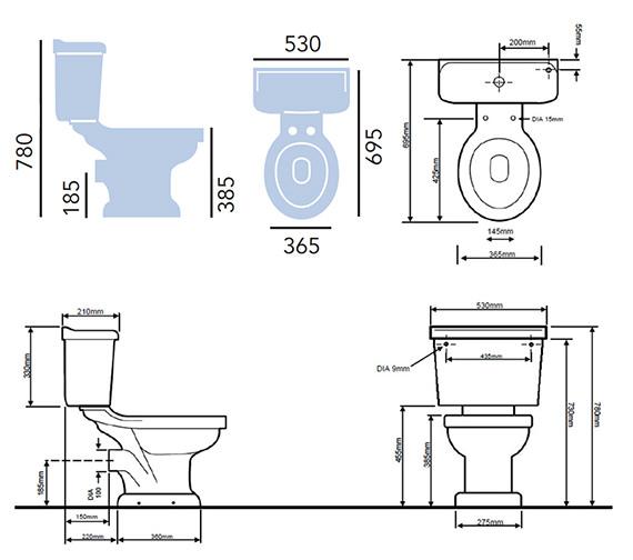 Technical drawing QS-V54941 / PBW00