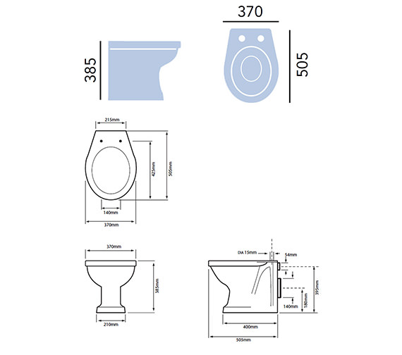 Technical drawing QS-V54971 / PRHWF00