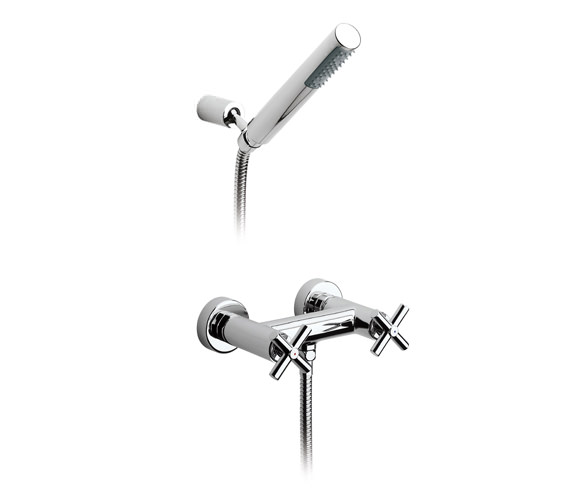 Roca Loft Wall Mounted Shower Mixer With Kit - 5A2043C00